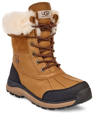 UGG Adirondack III Faux Shearling-Lined Leather Boots