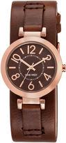 Nine West Nayley Leather Cuff Watch