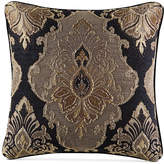 "J Queen New York Bradshaw Black 20"" x 20"" Decorative Pillow Bedding"