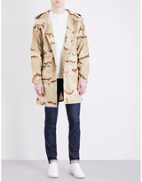 Stussy Camouflage-print Cotton Coat