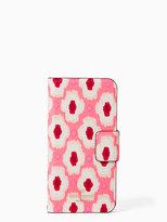 Kate Spade Ikat posy wrap folio iphone 7 case