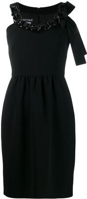 Moschino chain-embellished mini dress