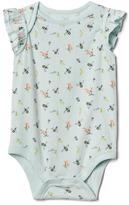 Gap Print flutter bodysuit