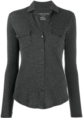Majestic Filatures Clara button-up blouse
