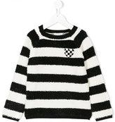 Little Marc Jacobs striped jumper - kids - Cotton/Acrylic/Polyamide/Metallic Fibre - 2 yrs