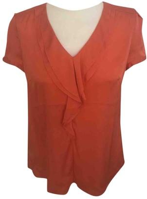 HUGO BOSS Orange Silk Top for Women