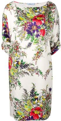 Blumarine Floral Shift Dress