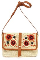 Tommy Bahama Santa Barbara Crossbody Clutch - Beige