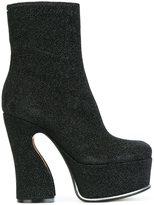 Maison Margiela sculpted heel ankle boots