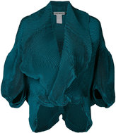 Issey Miyake draped jacket