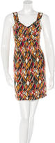 M Missoni Geometric Print Mini Dress w/ Tags