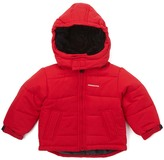 London Fog Red Puffer Coat - Infant & Boys