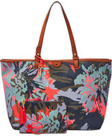Fossil Rachel Printed Tote with Pouch