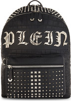 Philipp Plein Arizona croc-embossed backpack