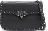 Valentino Garavani Rockstud Rolling Pebbled-leather Shoulder Bag