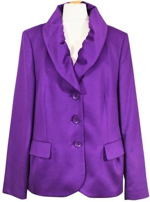 Basler Purple Cashmere Jacket for Women
