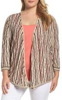 Nic+Zoe Plus Size Women's Origami 4-Way Cardigan