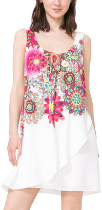 Desigual Scoop Neck Dress