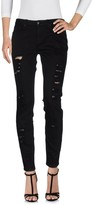 Silvian Heach Denim pants - Item 42584844