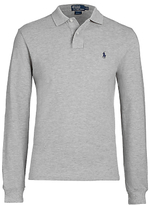 Polo Ralph Lauren Custom Fit Long Sleeve Polo Shirt