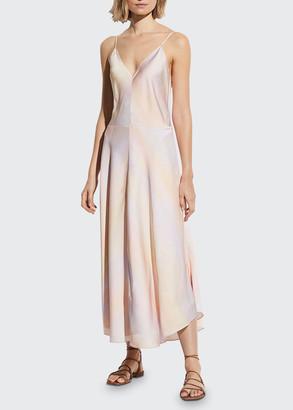 Vince Rainbow Wash Maxi Dress