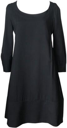 Rue Du Mail Black Cotton Dress for Women
