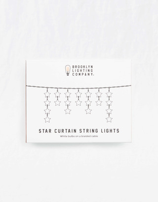 aerie Star Curtain String Lights