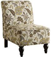 Monarch Garden Floral Accent Chair