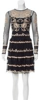 Temperley London Embroidered Cocktail Dress