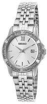 Seiko SUR741P1 Women's Classic Stainless Steel Silver-Tone Dial