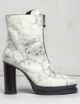 Opening Ceremony Off White Multi Marble Korinne Zip Boots