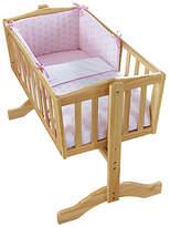 Clair De Lune Speckles Crib Bedding Set - Pink.