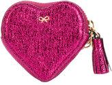 Anya Hindmarch crinkled metallic heart