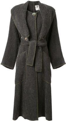 Fendi Pre Owned Long Coat