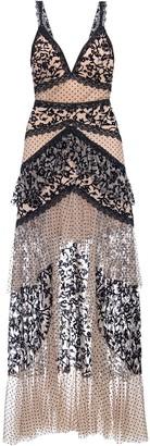 PatBO Burnout velvet maxi dress