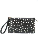 Dolce & Gabbana polka dot clutch bag - women - Calf Leather - One Size