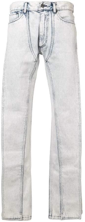 Y/Project Y / Project asymmetric leg jeans