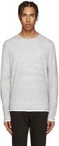 Rag & Bone Grey Knit Trip Pullover