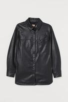 H&M H&M+ Shirt Jacket