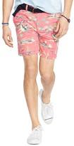 Polo Ralph Lauren Straight Fit Linen Blend Shorts