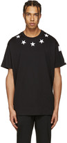 Givenchy Black Stars T-Shirt
