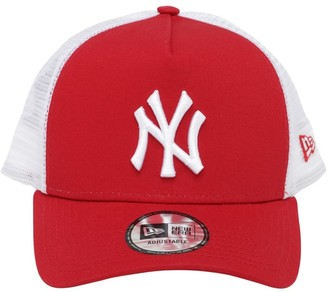 New Era Clean Trucker Ny Yankees Cap W/ Mesh
