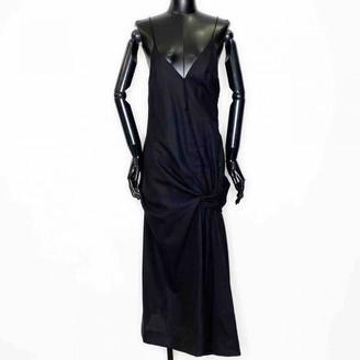 Jacquemus La Bomba Black Wool Dresses