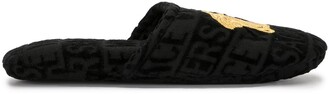 Versace Home Medusa terricloth slippers