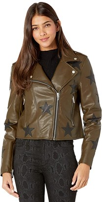 Blank NYC Star Jacket in Star Of The Show (Star Of The Show) Women's Jacket