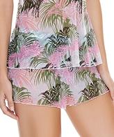 Freya Pink & Green Palm California Dreams Pajama Shorts