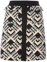 Dorothy Perkins Blush Pink Diamond Printed A-Line Skirt