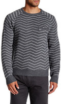 Saturdays Surf NYC Keith Zigzag Knit Sweater