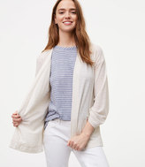 LOFT Lightweight Open Cardigan