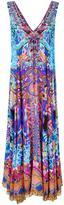 Camilla embellished print maxi dress